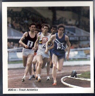 Nabisco-Action Shots Of Olympic Sports- 800M Track Athletics