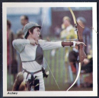 Nabisco-Action Shots Of Olympic Sports- Archery