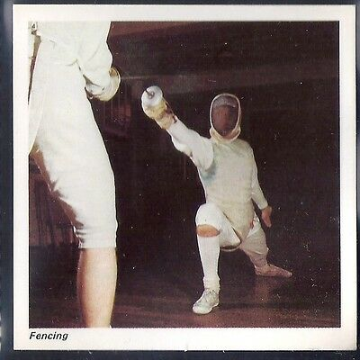 Nabisco-Action Shots Of Olympic Sports- Fencing