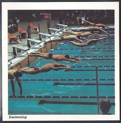 Nabisco-Action Shots Of Olympic Sports- Swimming