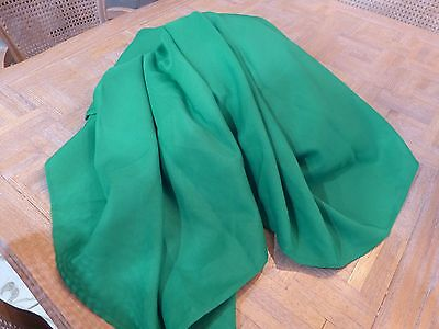 6' ft. Fitted Polyester Banquet Tablecloth Green with Skirt tagged Nordstrom (3)