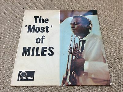 "The Most Of Miles. 12"" LP. TFL5089. 682072TL. Very Rare."