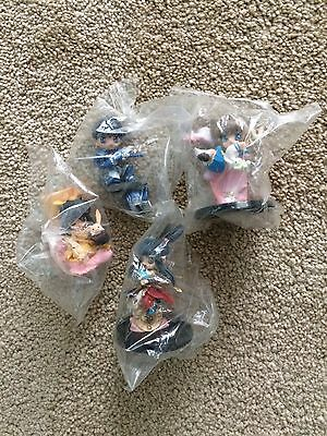 CLAMP in 3-d Land - Series 5 Set of 4 figures