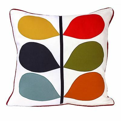 "100% Cotton Digital ""Reactive"" Printed Cushion Covers Modern Style Size 16"" 18"""