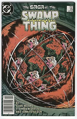 Saga Of The Swamp Thing #29 Early Alan Moore News Stand Variant 1984 VF