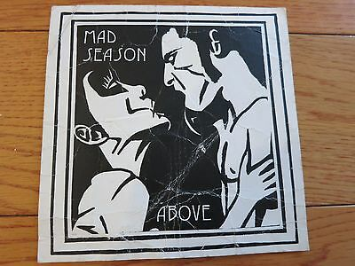 Mad Season concert ticket invite + coa! Layne Staley Alice In Chains Pearl Jam