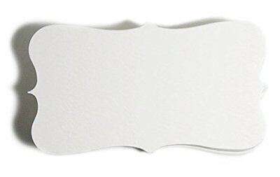 White Paper Business Cards 100 Paper W04- Blank