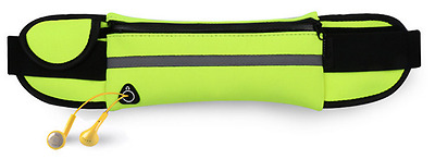 Running Waist Pack - Adjustable, Neoprene, Reflective, Waterproof