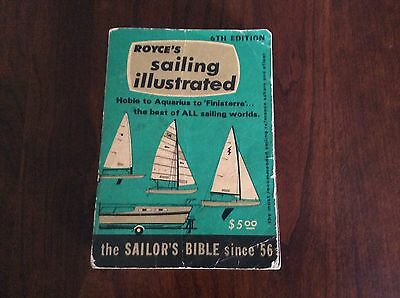 Vintage Royce's Sailing Illustrated 6th Edition 1974 Boating Book