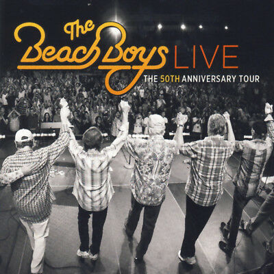 The Beach Boys- Live: The 50th Anniversary Tour 2CD Capitol 2013 EU Edition NEW