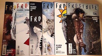 FROSTBITE issues 1-6 complete NM complete set / 1 2 3 4 5 6 LOT Vertigo