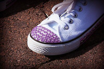 Stickcons Bling Stickers For Your Sneakers / Purple