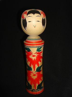 Japanese. Antique Wooden Kokeshi Doll Traditional Togatta Vintage Signed Rare