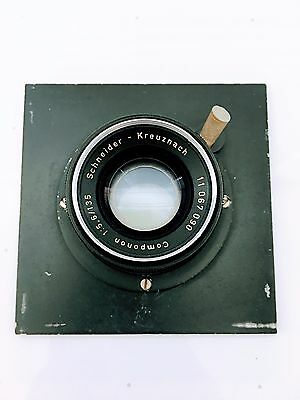 Schneider Kreuznach Componon 1:5.6 135 Mm W/mounting Plate Made In Germany