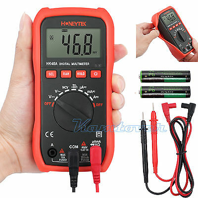 HK48A Digital LCD Multimeter 2000 Counts AC DC OHM Current Voltage Tester AU
