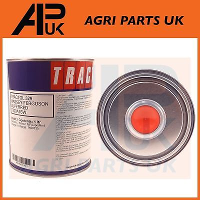 1 Litre Tractol Super Red Paint Massey Ferguson 35 65 135 165 240 290 Tractor