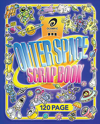 Olympic Scapbook Outerspace 335x280mm 64 Page -10 Pack