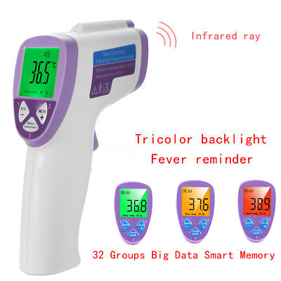 Non Contact Baby Adult Digital Infrared Medical Body Forehead Ear Thermometer