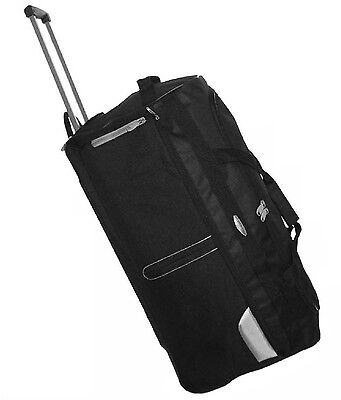 Wheeled Trolley Suitcase Xxl Large Travel Hoilday Holdall Duffle Bage Case New