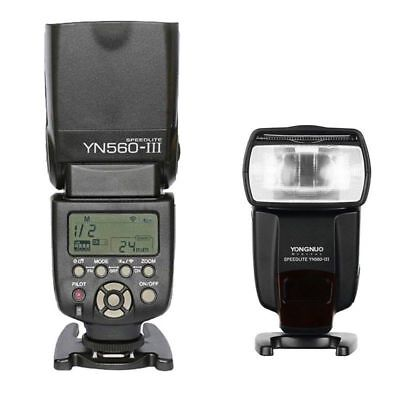 Yongnuo YN-560 III Wireless Trigger Speedlite Flash for Canon Nikon Camera UK
