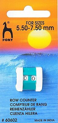 Pony Row Counter - Large (5.5mm - 7.5mm)