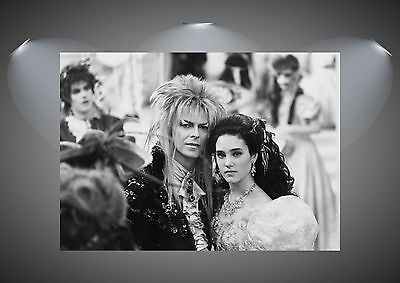 Labyrinth Vintage Movie David Bowie Large Art Poster Print - A0 A1 A2 A3 A4