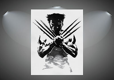 The Wolverine Logan Large Art Poster Print - A0 A1 A2 A3 A4