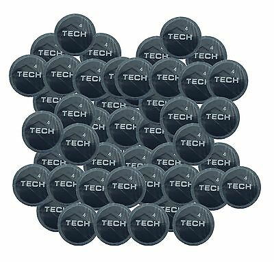 Tech 50 Tyre Puncture Repair Patches Inner Tube Mountain Bicycle Bike Car
