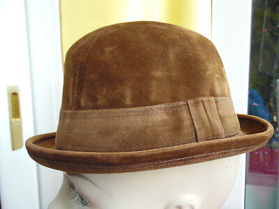 Cappello Vintage Originale-Qualita' Top-Falcus-Velluto  Pettinato-Mis. 53