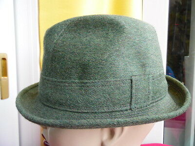 Cappello Vintage Originale-Qualita' Top-Lockwood-Lana Loden-Mis. 57