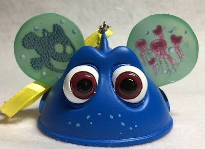 Disney Parks ~ Dory Ear Hat From Finding Dory Ornament Christmas