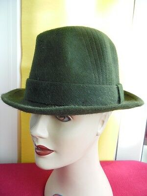 Cappello Vintage Originale-Qualita' Top-Castorino-Made In Italy- Mis. 57