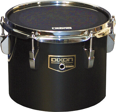 "Dixon Marching Concert Tom 10"" schwarz PDCP-0810CBK"