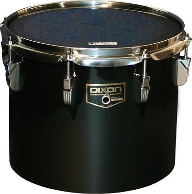"Dixon Marching Concert Tom 12"" schwarz PDCP-1012CBK"