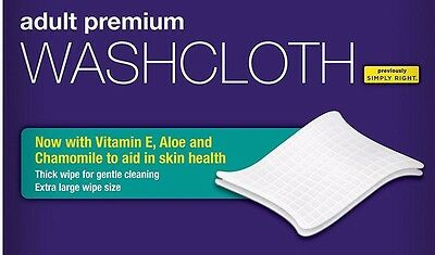 Adult Disposable Moist Wipes Extra Large Alcohol Free Washcloths Bathroom Care