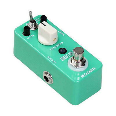 Mooer Micro Series - Green Mile Overdrive Guitar Effects Pedal - Superb Fx Unit