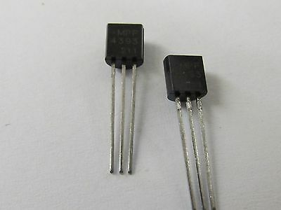 4 Stück - MPF4393 TO92 JFET N CHANNEL 30V - ON Semiconductor 4x