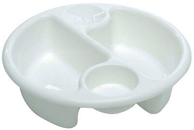 The Neat Nursery Company Circular Top 'N' Tail Bowl Newborn Baby Bathing BNIP