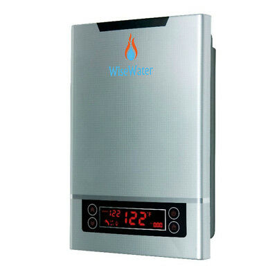 """WiseWater Electric Hot Water Heater 240V 11kW 1/2""""NPT Domestic Hot Water Heating"""