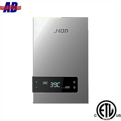 """WiseWater Tankless Electric Water Heater 240V 18kW Stainless Steel 3/4"""" NPT"""