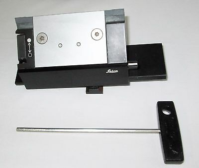 Leica 2030 (and others) Microtome Disposable High Profile Blade Holder With Key