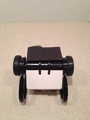 """Rolodex Rotary Index File Card Holder Organizer 4"""" x 2 1/4"""" W/ CARDS & DIVIDERS"""