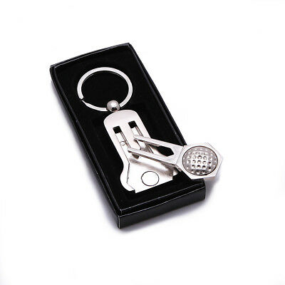 Luxury Magnetic Divot Tool and Ball Marker Keyring PERFECT GOLFING GIFT