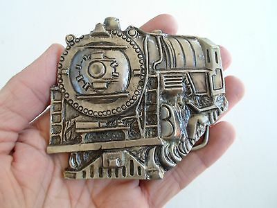 Vintage, Collectors, 1978, Train Belt Buckle, By Instyle #1142, Made In U.s.a.