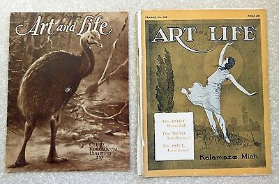 Art And Life Magazine - Lot Of 4 - 1924 To 1926