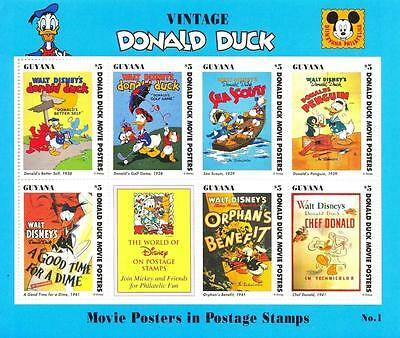 (016085) Ship, Disney, Umbrella, Movie Posters, Guyana