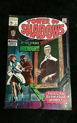 Tower of Shadows #1 (Sep 1969, Marvel) Key Issue-1st Tower of Shadows
