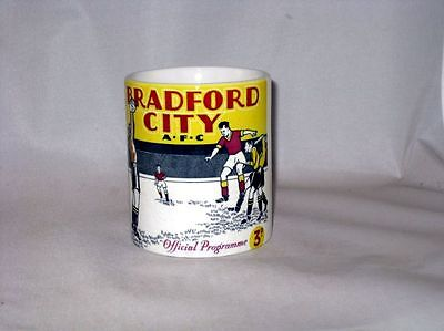 Bradford Football De Ville Programme Collectionneurs TASSE #2