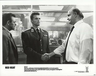 Red Heat 1988 Original Movie Poster Action Comedy Crime