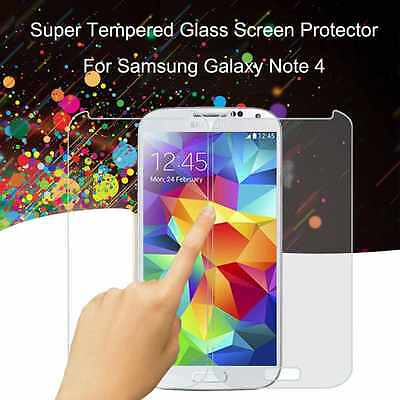 Tempered   Glass   Screen Protector For Samsung Note4 Anti-Glare  0.3Mm Galaxy